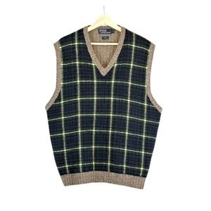 POLO RALPH LAUREN Wool/Silk Sweater Vest